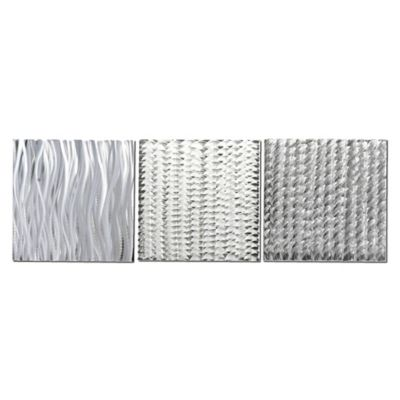 Countless Composition Abstract Metal Wall Art (Set of 3)