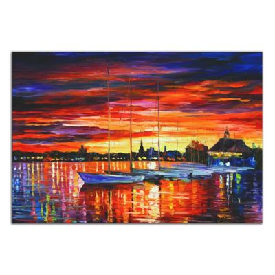 Helsinki Sailboats at Yacht Club Metal Wall Art