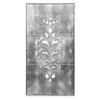 Metallic Wood Wall Hanging