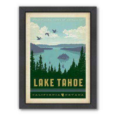 Art & Soul of America™ Lake Tahoe Framed Wall Art by Anderson Design Group