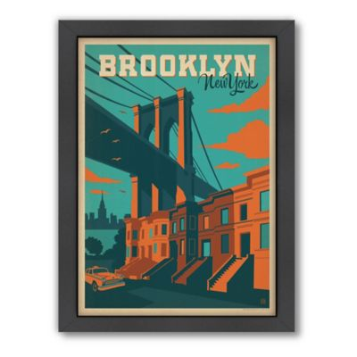 Art & Soul of America™ Brooklyn, NY Framed Wall Art by Anderson Design Group