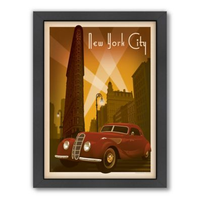Art & Soul of America™ New York City, Flatiron Framed Wall Art by Anderson Design Group