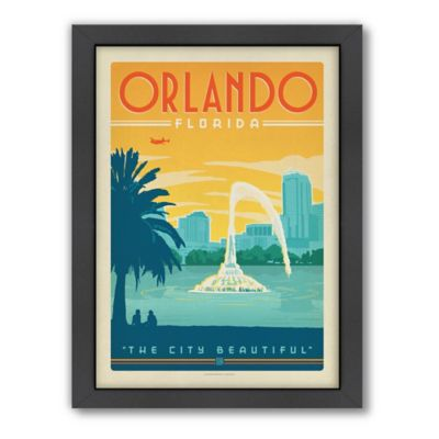 Art & Soul of America™ Orlando Framed Wall Art by Anderson Design Group