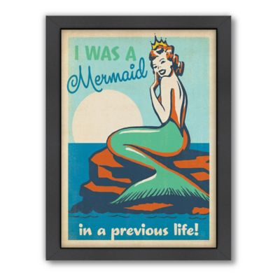 Mermaid Queen Framed Wall Art by Anderson Design Group