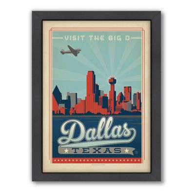 Art & Soul of America™ Dallas Framed Wall Art by Anderson Design Group