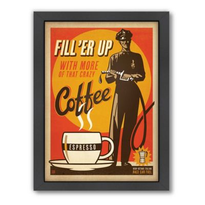 """Fill'er Up"" Framed Wall Art by Anderson Design Group"