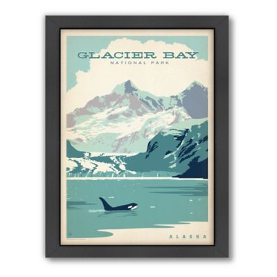 Glacier Bay National Park Framed Wall Art by Anderson Design Group