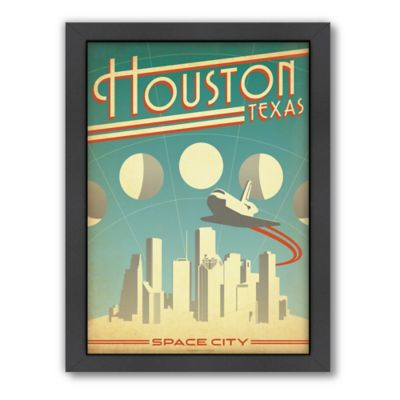Art & Soul of America™ Houston: Space City Framed Wall Art by Anderson Design Group