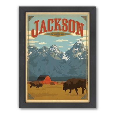 Art & Soul of America™ Jackson, WY Framed Wall Art by Anderson Design Group