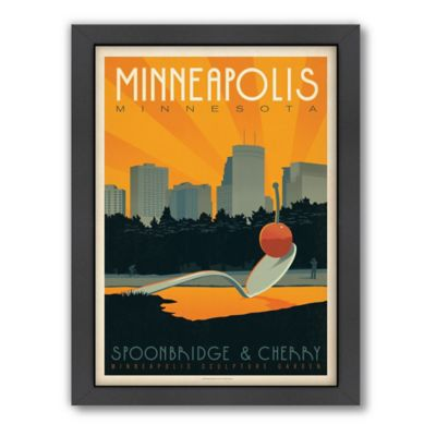 Art & Soul of America™ Minneapolis Framed Wall Art by Anderson Design Group