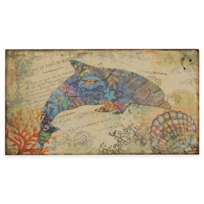 Bottlenose Dolphin Nautical Wall Art