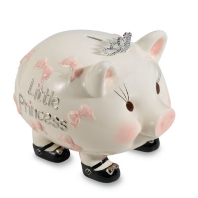 Mud Pie® Baby Ceramic Piggy Bank