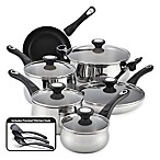 Farberware® New Traditions Stainless Steel 14-Piece Cookware Set