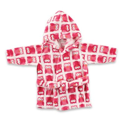 Luvable Friends Coral Fleece Robe in Pink