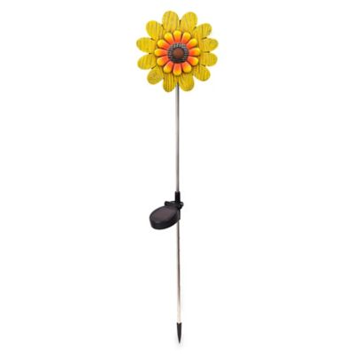Shabby Chic Sunflower Solar Stake Light