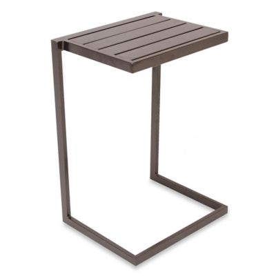 Nesting Slat Top Snack Table