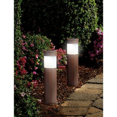 Bollard Solar Pathway Lights (Set of 2)