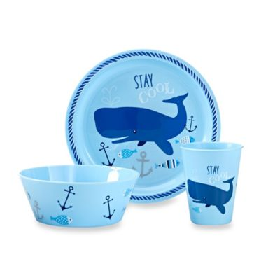 """3-Piece """"Stay Cool"""" Place Setting"""