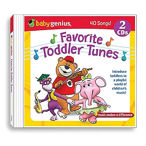 Baby Genius® Favorite Toddler Tunes CD