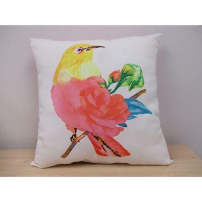Beautiful Bird Indoor/Outdoor Throw Pillow