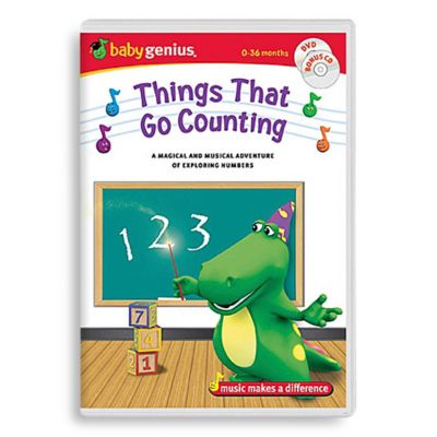 Baby Genius® Things That Go Counting DVD