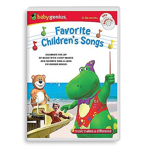 Dvds gt baby genius favorite children s songs dvd