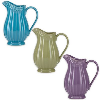 Lenox® French Perle™ Groove Mini Pitcher in Violet