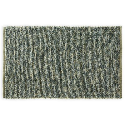 Bacova Rainbow 1-Foot 8-Inch x 2-Foot 10-Inch Accent Rug in Black/Grey