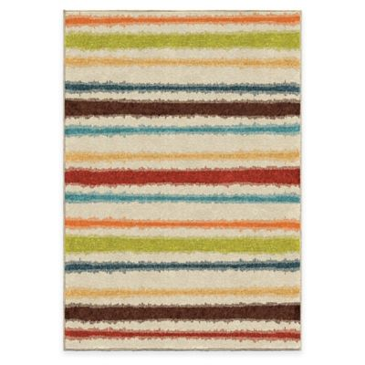 Green Stripe Area Rugs