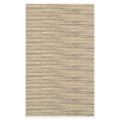 Wildwood 5-Foot 3-Inch x 7-Foot 6-Inch Indoor/Outdoor Rug in Beige/Brown