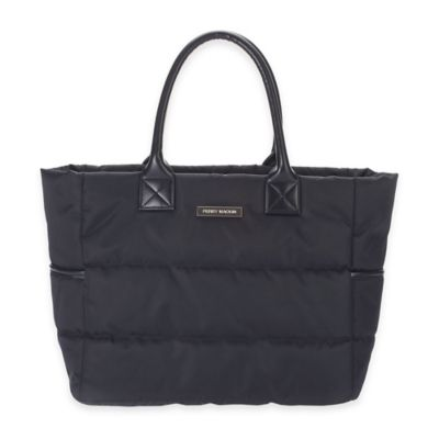 Perry Mackin Anouk Diaper Bag in Black