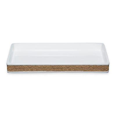 White Amenity Tray