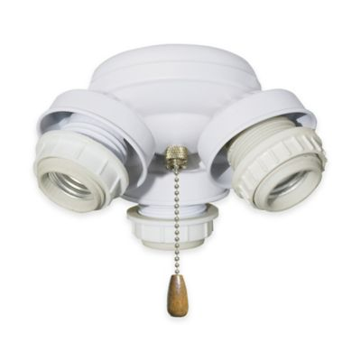 3-Light Bronze Fan