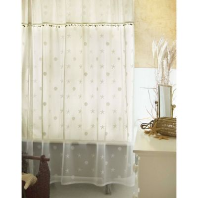 Curtain for Bathroom Window in Shower