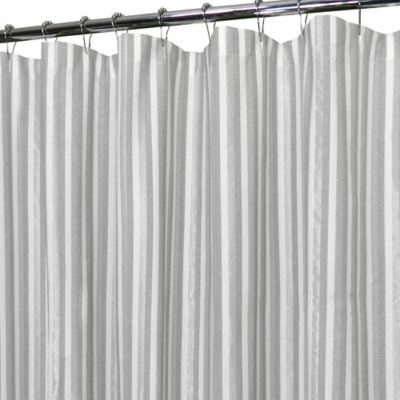 Park B. Smith Leland Shower Curtain in Silver