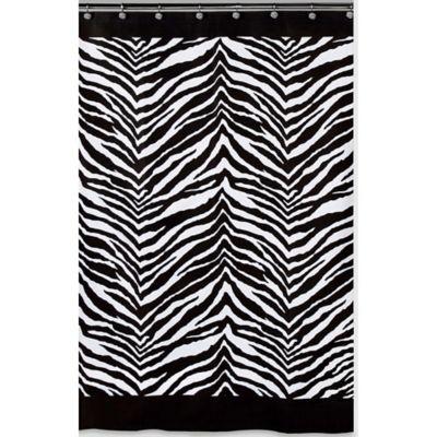 Creative Bath™ Zebra Shower Curtain