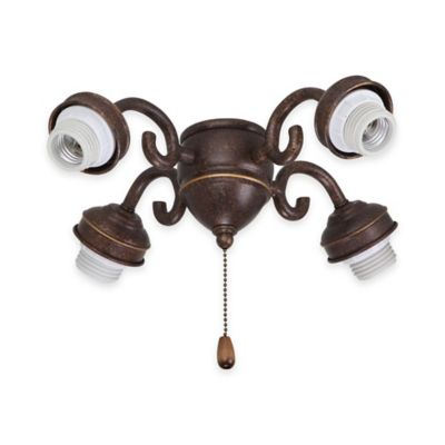 Emerson 4-Light Transitional Fitter in Gilded Bronze