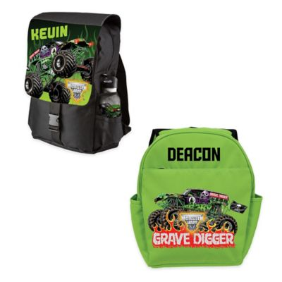 Monster Jam® Grave Digger® Youth Backpack in Green