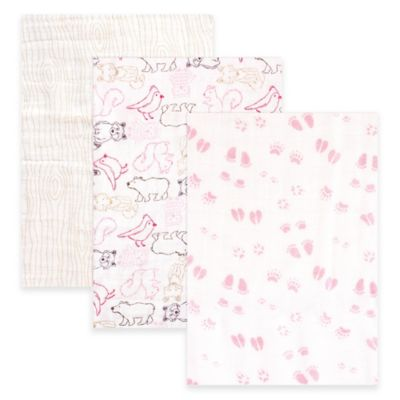Baby Vision Muslin Blankets