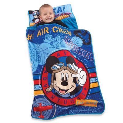Disney® Mickey's Flight Academy Toddler Nap Mat