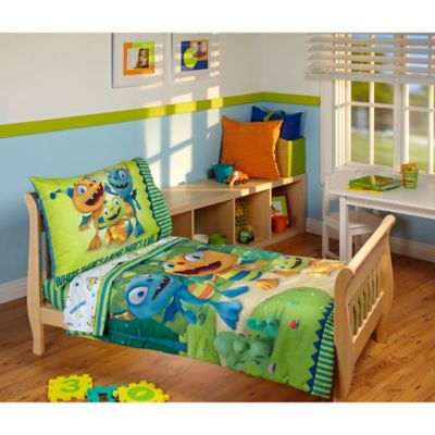 Disney® Henry Hugglemonster 4-Piece Toddler Bedding Set