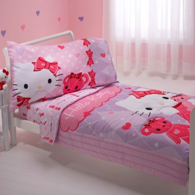 Hello Kitty® & Friends 4-Piece Toddler Bedding Set