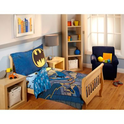 DC Comics™ Batman 4-Piece Toddler Bedding Set