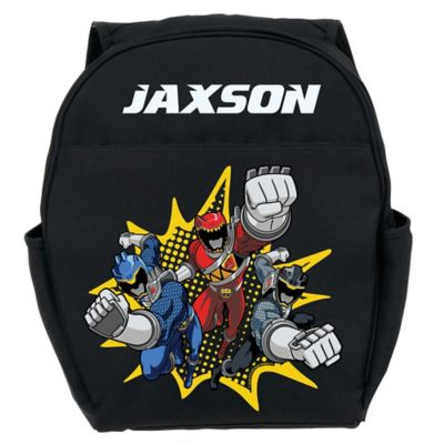 Power Rangers Dino Charge Youth Backpack in Black