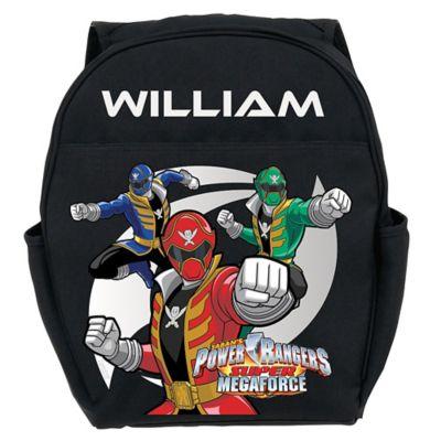 Power Rangers Super Megaforce Toddler Backpack in Black