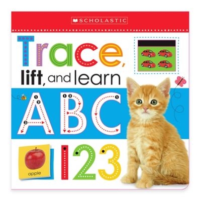 "Scholastic ""Trace, Lift, and Learn: ABC 123"" Board Book"