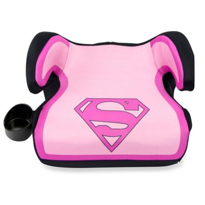 KidsEmbrace® Fun-Ride Supergirl Backless Booster Car Seat