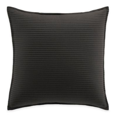 Manor Hill® Lowery European Pillow Sham in Black