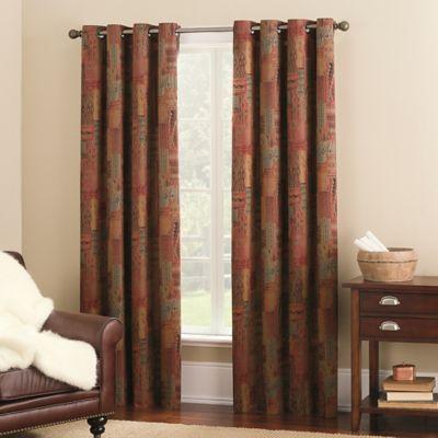Castleton 63-Inch Grommet Top Window Curtain Panel