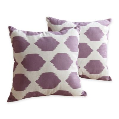 Abbyson Living® 18-Inch Square Ronan Throw Pillow (Set of 2)